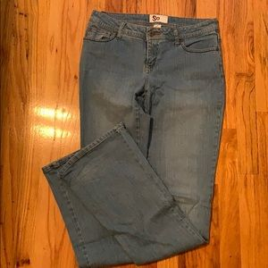 SO 7 Long flare jeans